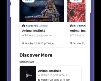 Virtual Catalog for SCF Music Program